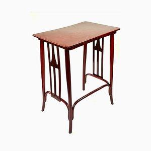 Art Nouveau Bent Beech Side Table by Thonet