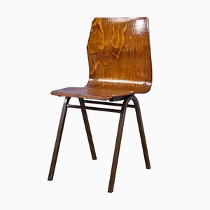 Dining Chairs in Teak Plywood by Obo Eromes, 1970s, Set of 6