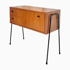German Walnut Chest with Pin Legs from Veralux, 1960s