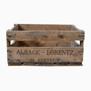 Antique Wine Case by Gustave Lorentz