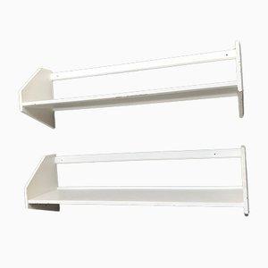Wall Shelves by Hans J. Wegner for Ry Møbler, 1950s, Set of 2