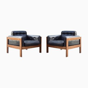 Leather Lounge Chair from Asko, Set of 2