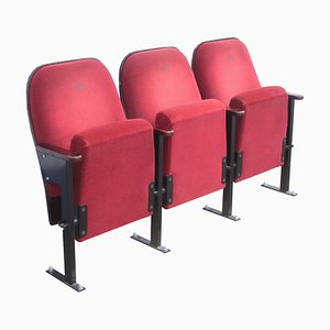 Cinema Seat in Red, 1960s