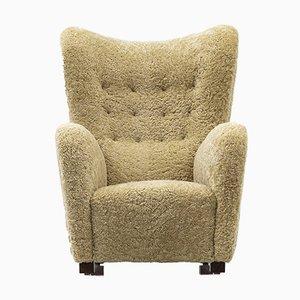 1672 Wingback Chair from Fritz Hansen
