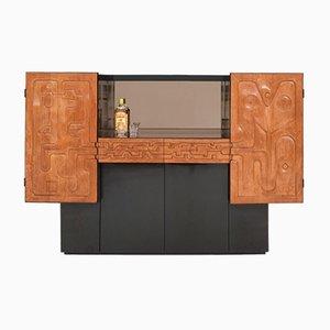 Bar Cabinet by Paul Ghekiere, 1982