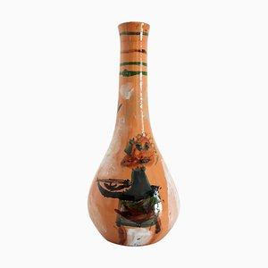 Mid-Century Italian Modernist Ceramic Vase by Art Rumi Orobico, 1950s