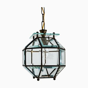 Art Nouveau Secessionist Pendant Lamp in the Style of Adolf Loos