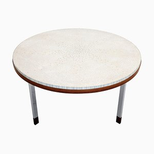 Mosaic Tile and Teak Coffee Table by Berthold Müller, 1960s