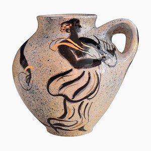 Vallauris Ceramic Vase by Pierre Boncompain, 1996