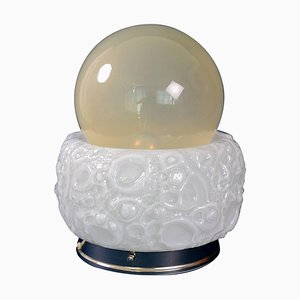 Italian Space Age Murano Table Lamp from Mazzega, 1970s