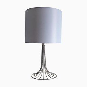 Space Age Chrome Table Lamp from Kinkeldey, 1970s