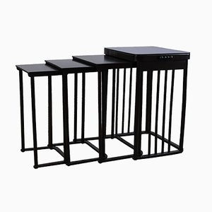 Nesting Tables by Josef Hoffmann for J. & J. Kohn, Set of 4