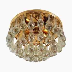 Murano Glass Teardrop Chandelier from Palwa, 1970s
