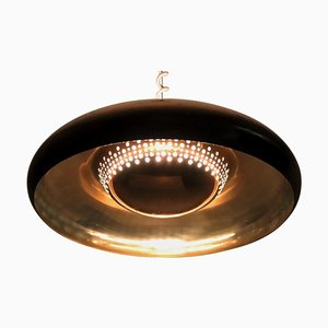 Italian Brass Pendant Lamp by Afra and Tobia Scarpa for Flos, 1960s
