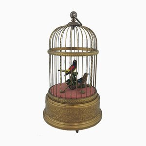 Singing Birds Mechanical Music Box from Reuge