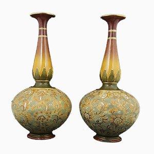 Slater Vases from Royal Doulton, Set of 2