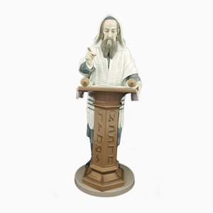 Model No. 6208 Lladro Figurine Rabbi Reading the Torah