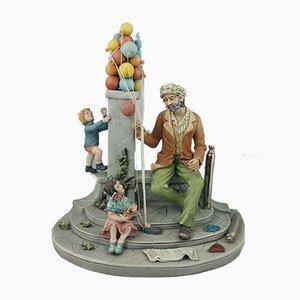 Capodimonte Figurine Balloon Man