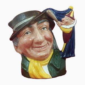 Large Character Jug Punch & Judy Man from Royal Doulton