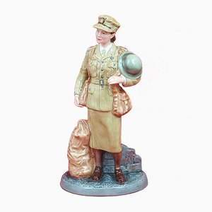 Figurine Auxiliary Territorial Service from Royal Doulton