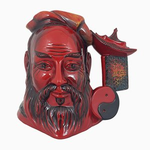 Large Flambe Character Jug from Royal Doulton