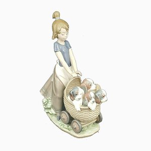 Litter of Fun from Lladro