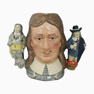 Large Character Jug Oliver Cromwell from Royal Doulton