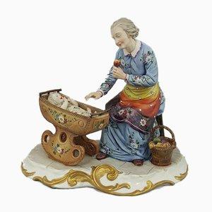 Capodimonte Figurine The Grandma by Volta