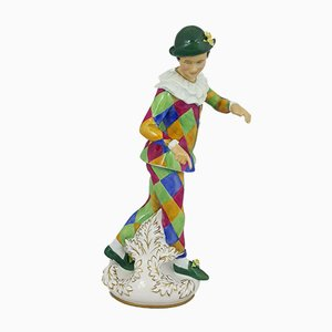 Figurine Harlequin from Royal Doulton