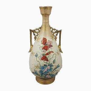 Model No. 1755 Royal Bonn Earthenware Pear-Shaped Vase