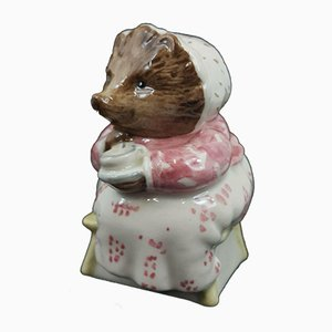 Beswick Mrs Tiggy Winkle Takes Tea from Royal Doulton