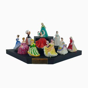 Figurines from Royal Doulton, Set of 10