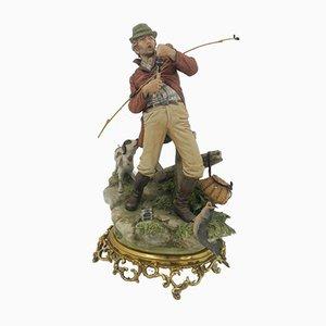 Capodimonte Large Figurine Fisherman