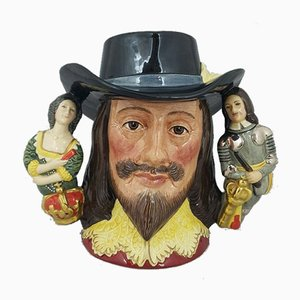 Double Handled Character Jug from Royal Doulton