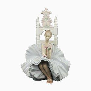 Model 6485 Figurine Posing Ballerina from Lladro
