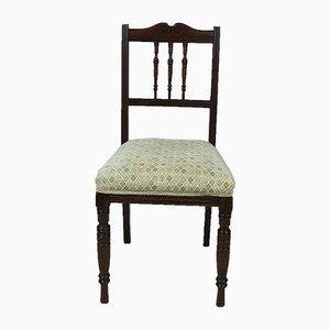 Edwardian Mahogany Dining Chairs, Set of 4