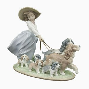 Model 6784 Figurine Puppy Parade from Lladro