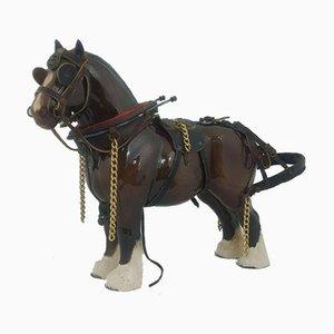 Model 2309 Beswick Horse Burnham Beauty with Cart