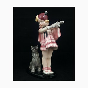 Goldscheider Figurine Come with Me