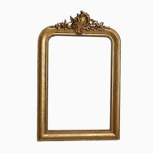 Napoleon III Louis Philippe Style Gilded Wood Mirror, Mid 19th Century