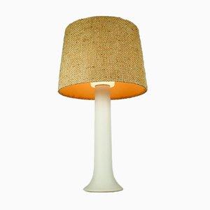 Table Lamp in Glass Uno & Östen Kristiansson für Luxus Vittsjö, Sweden