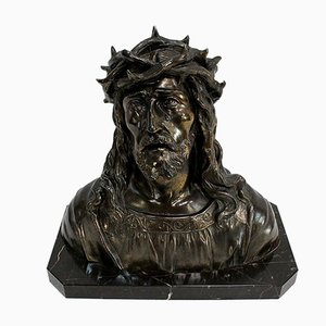 Bust of Christ by Ruffony, Late 19th Century
