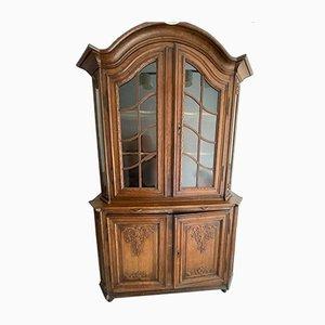Regency Dresser or Cabinet in Cast Oak, Liège, Belgium, 18th Century