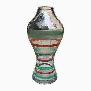 Murano Glass Vase by Carlo Moretti, 1980