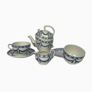 Oaklands Tea Set by Sir Douglas Baillie Hamilton Cochrane for Wedgwood, England, 1900s, Set of 6
