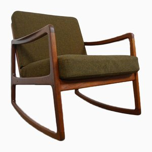 Teak Senator Rocking Chair by Ole Wanscher for France & Søn