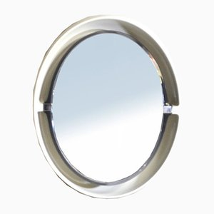 Vintage Space Age Backlit Mirror from Allibert, 1970s