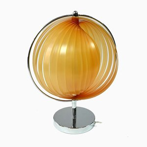 Vintage Space Age Moon Table Lamp in the Style of Verner Panton