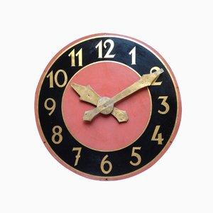 Orologio vintage di un campanile, Belgio