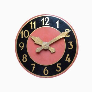 Vintage Bell Tower Clock Face